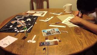 The Making of The Thousand Sunny Paper craft