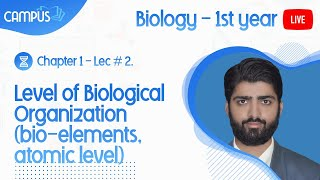 1st Year Biology  - Introduction