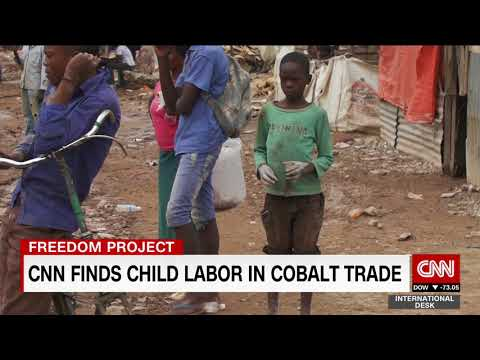 Child Labour Used To Make Batteries For Electric Cars In Cobalt Mines