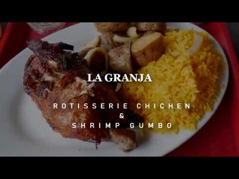 ARUBA FOOD TRIP PART-1 COCONUT SMOOTHIE, ROTISSERI CHICHEN AND GUMBO