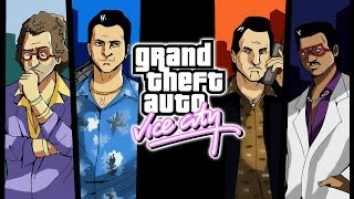 Grand Theft Auto: Vice City All Cutscenes (Game Movie) PC 1080p 60FPS