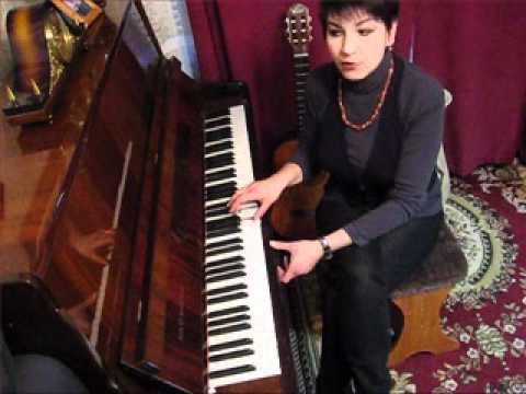 1.Обучение на пианино без нот ШКОЛА ЮДИНОЙ Сначала учимся играть потом учим ноты