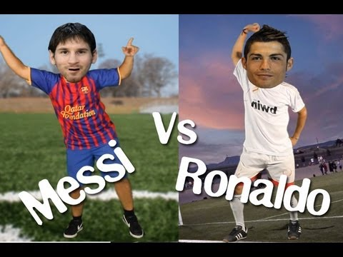 MESSI VS. CRISTIANO RONALDO, im y and i know it! LMFAO