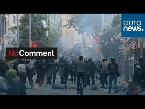 شاهد: احتجاجات ضد الحكومة في شوارع العاصمة الكولومبية  - نشر قبل 7 ساعة