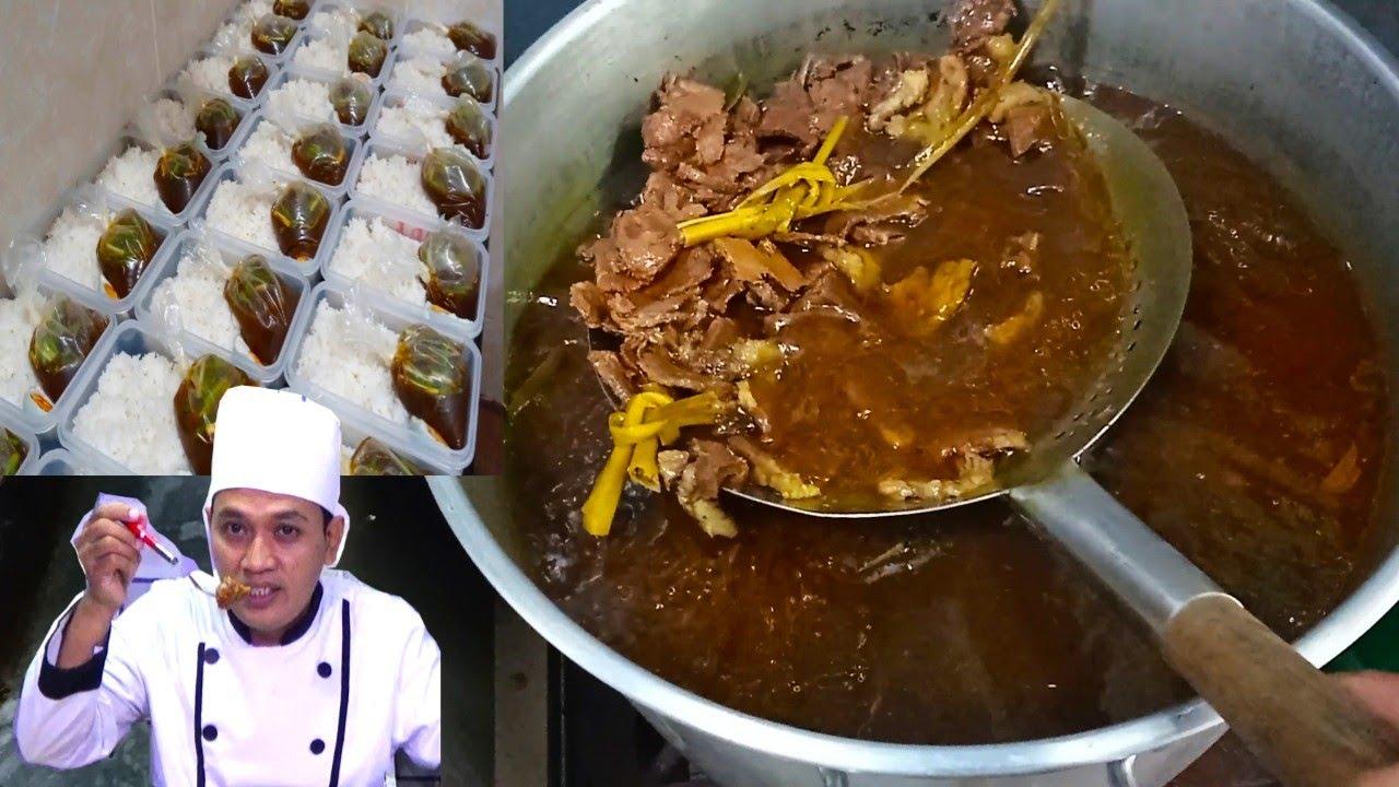 RESEP RAWON KOMPLIT ||  UNTUK JUALAN & CARA DI JADIKAN FROZEN FOOD