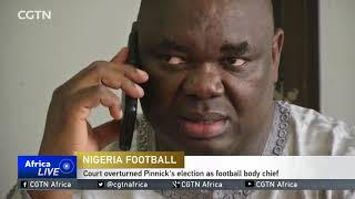 Nigerian football league suspended after leadership row