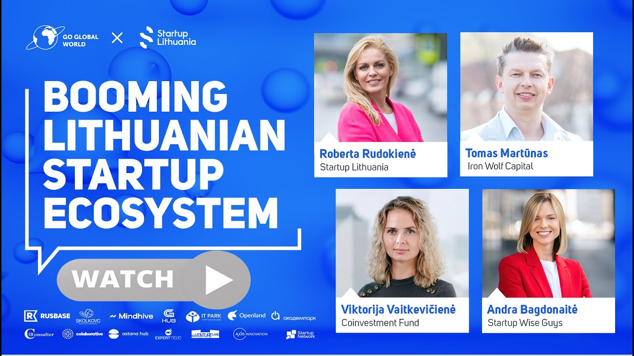 [Webinar] BOOMING LITHUANIAN STARTUP ECOSYSTEM