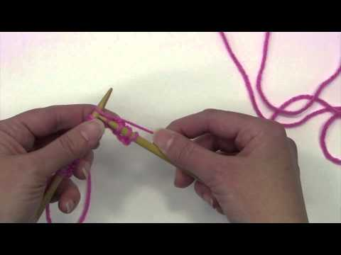Learn to Knit English Style - Tutorial - Knitting Blooms
