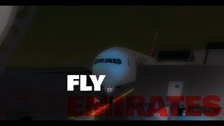 ROBLOX EMIRATES BUSINESS CLASS FLIGHT!