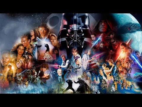 Descargar Star Wars Episodios I, II, III, IV, V, VI, VII y VIII Audio Latino HD - YouTube