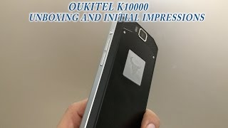 The infamous 10000 mAh smartphone unboxing and initial thoughts- Oukitel K10000 Unboxing