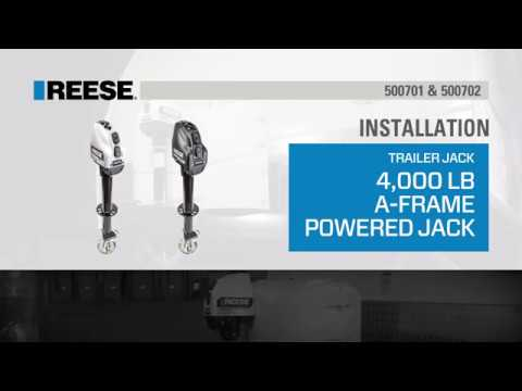 Installation: Reese® 4K A-Frame Powered Jack