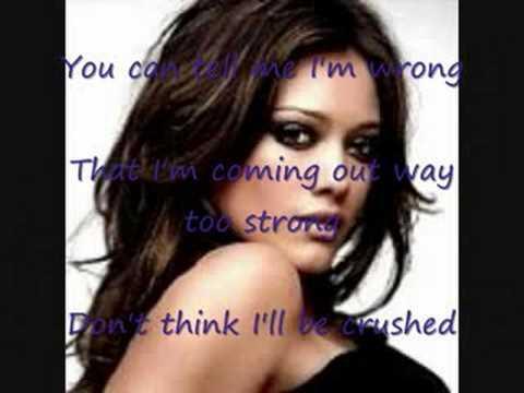 Hilary Duff - With Love lyrics
