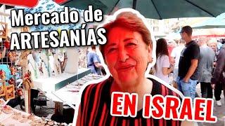 🇮🇱EL MEJOR MERCADO DE ARTESANÍAS ISRAEL+ ME RECONOCEN EN LA CALLE !