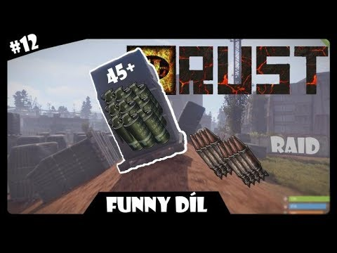 [CZ/SK RAID] | RUST | #12 | BEST RAID FUNNY/FAIL MOMENTS !!!!! |