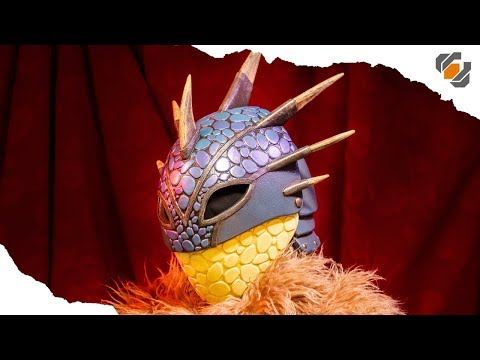 How to make Astrid's Dragon Helmet! - HOW TO TRAIN YOUR DRAGON 3 thumbnail
