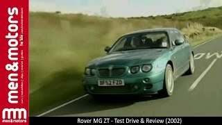 Rover MG ZT - Test Drive & Review (2002)