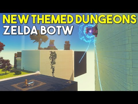PC modders are making Breath of the Wild dungeons, and they're wild