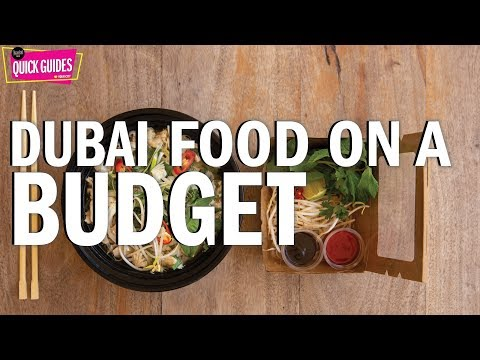 Dubai's ten best restaurants on a budget (2019)