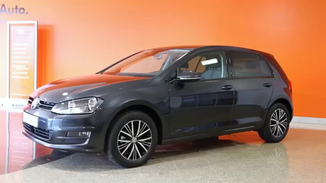 volkswagen golf occasion 1 2 tsi 110 bluemotion allstar dsg 7 gris carbone 26401 youtube. Black Bedroom Furniture Sets. Home Design Ideas