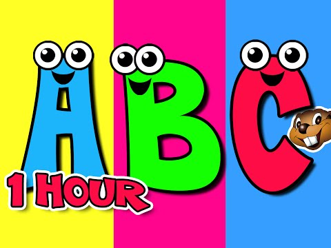 ABC Alphabet Songs + Plus More Nursery Rhymes = 1 Hour Kids HD Learning Animation Videos