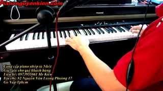 Piano  Roland HPi5 Và Hướng Dẫn Bài Hát Trung Thu By Piano Nguyễn Kiên
