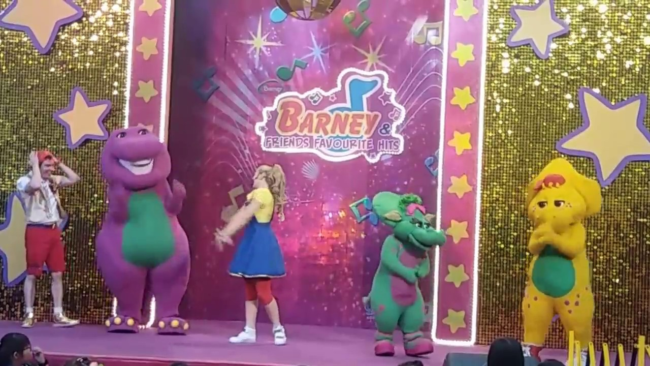 BARNEY & FRIENDS FAVORITE HITS LIVE At United Square