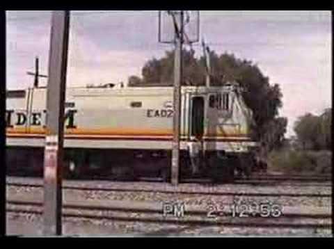 Inauguración de Servicio Locomotoras Eléctricas Medios II.
