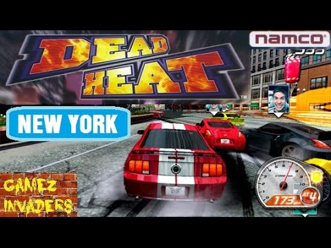 Namco Dead Heat New York Track Arcade Racing Car Game Coin Op