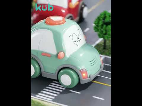 Kub Remote-Controlled Toy Car with Flashing Lights