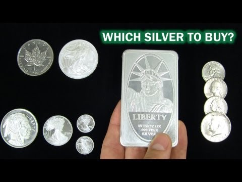 What is the Best Silver Bullion to Buy?