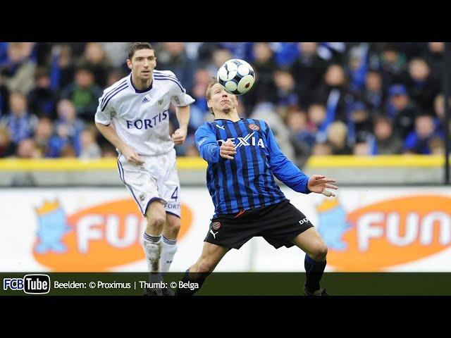 2008-2009 - Jupiler Pro League - 12. Club Brugge - RSC Anderlecht 1-1