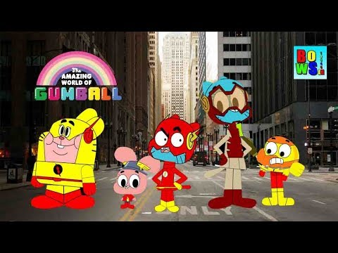 The Amazing World Of Gumball in The flash Costumes -bowser12345 & The Amazing World Of Gumball in The flash Costumes -bowser12345 ...