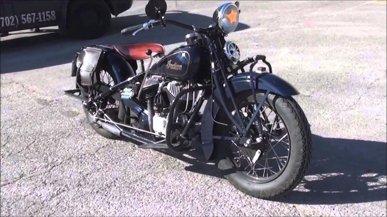 Original 1936 Indian Motorcycle