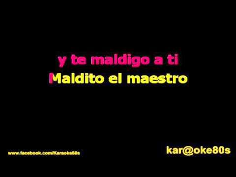 Malú / Aprendiz karaoke