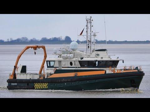 Forschungsschiff research & survey ship GEO FOCUS PCOS IMO 9628855 Emden