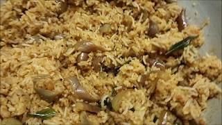 Vangi Bath | Brinjal Rice| Lunch box variety rice