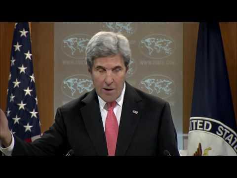 Kerry: Britain Derailed Obama's Syria Intervention Plan