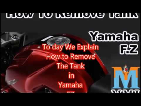 How t Tank Remove Yamaha FZ Tank I Engine Re-boring Part-1 I MMI