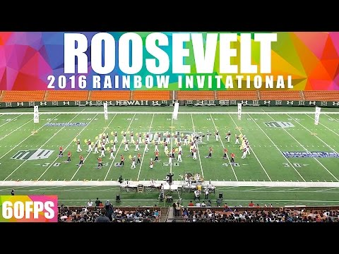 """Bushido: The Way of the Warrior   2016 Roosevelt HS """"Rough Rider"""" Marching Band   Rainbow   60fps"""
