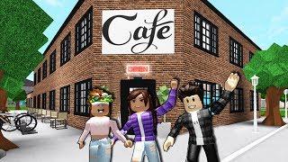 A FAN MADE MY COFFEE SHOP ☕ | Amberry Coffee | Roblox Bloxburg