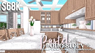 Casa de família pastel One Story   bloxburg Roblox   O GamingwithV