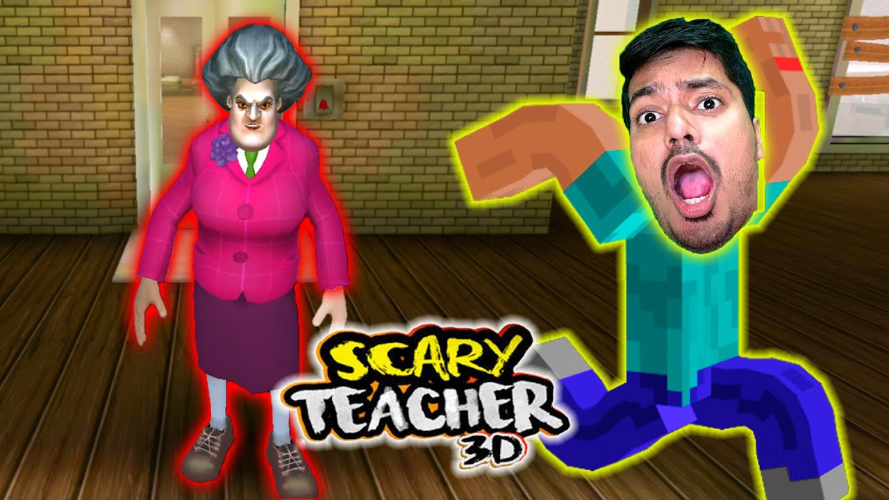 Scary Teacher 3D Prank Gameplay PART 2 - HINDI