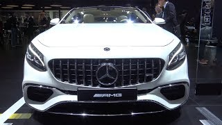 2018 Mercedes AMG S63 Coupe - Exterior And Interior Walkaround