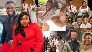 Happy Married Life! Nollywood Actors Stan Nze And Blessing Obasi Wedding Ceremony