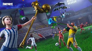 Fortnite - WHAT HAVE YOU SHOPPED THE SKIN FIGHISSIME FROM CALCIO?! ⚽ Squad and Creative With All of You