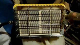 ОБЗОР инфракрасная газовая горелка для обогрева помещений