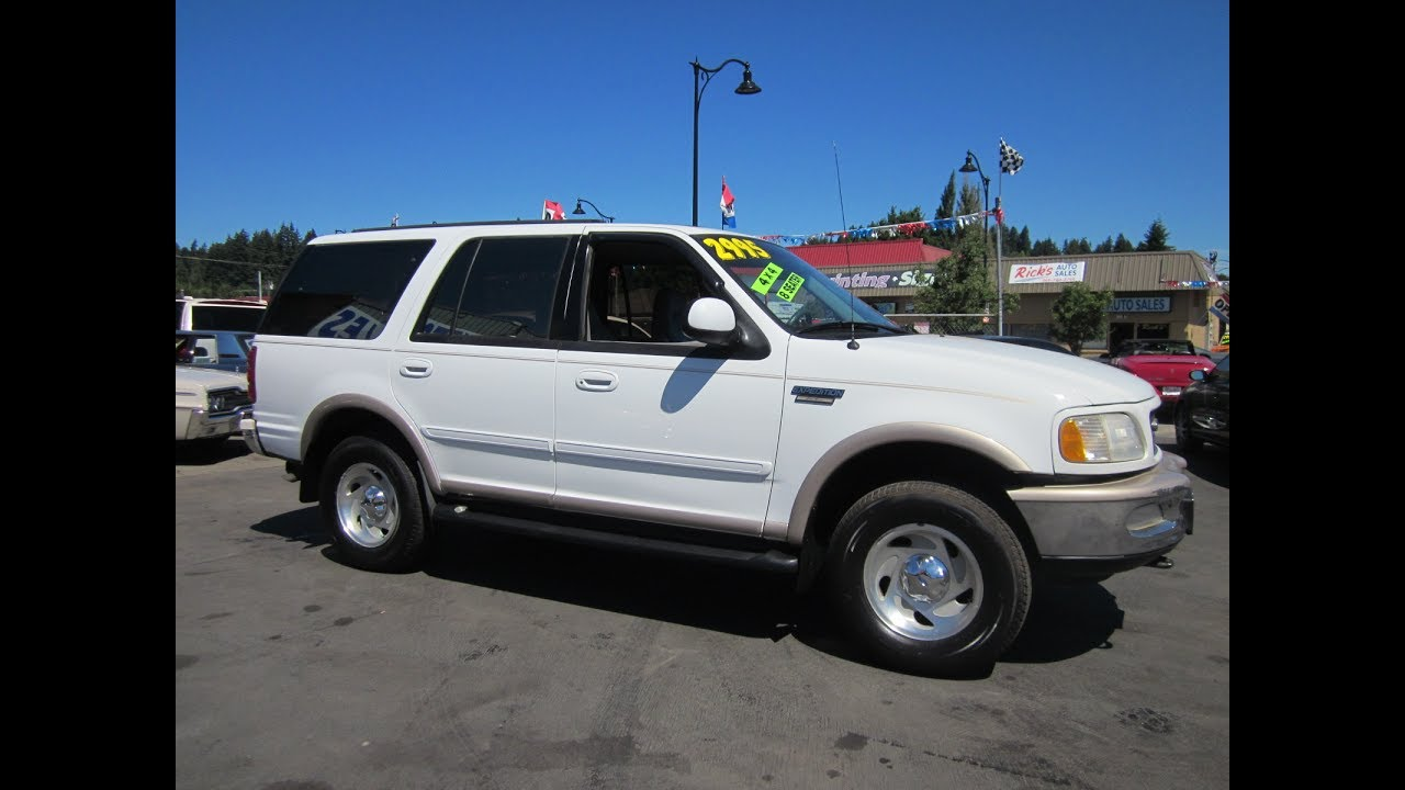 1997 ford expedition eddie bauer 4x4 sold