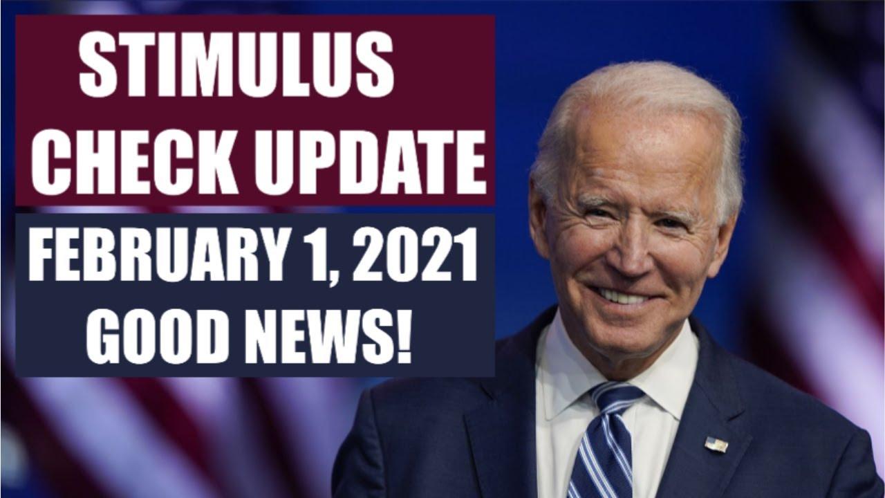Download $1400 THIRD STIMULUS CHECK UPDATE   FEBRUARY 1 UPDATE FOR 3RD STIMULUS CHECK (STIMULUS PACKAGE)