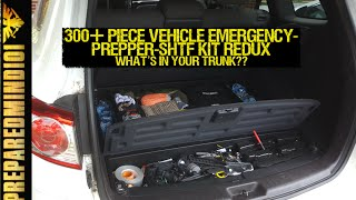 300+ Piece Vehicle Emergency/Prepper/SHTF Kit REDUX - Preparedmind101